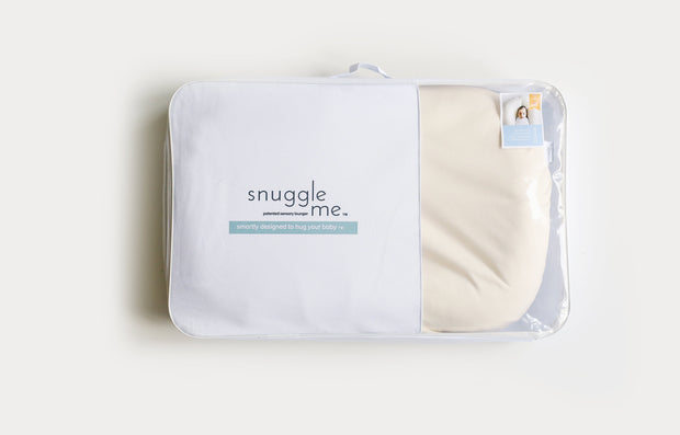 Snuggle Me Organic Lounger with Natural Cover - Urban Stroller
