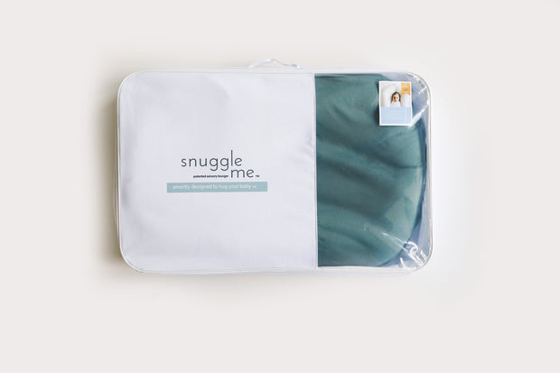 Snuggle Me Organic Lounger with Moss Cover - Urban Stroller