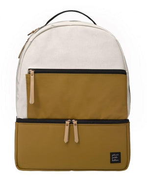 Petunia Pickle Bottom Axis Backpack in Caramel & Black