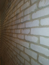CHICAGO STYLE BRICK VENEERS- PURE WHITE COLOR.   Make Your Home Decor Art With White Brick Tiles. FREE SHIPPING!