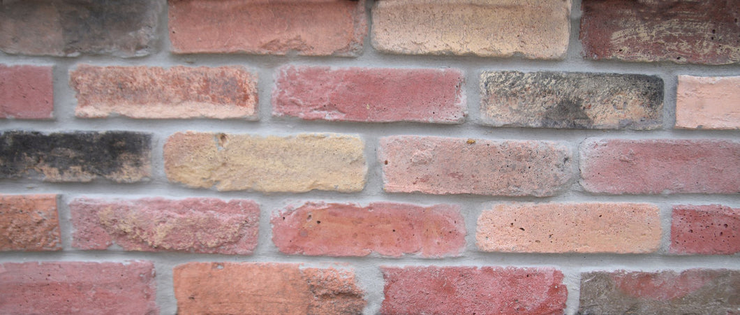Sample of CHICAGO STYLE BRICK VENEERS- FLAGLER MIXED COLOR