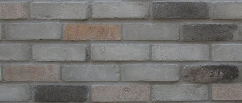 NEW STYLE BRICK VENEERS - GREY MIXED COLOR. Thin Brick Veneers. Thin Brick Tiles. Brick Veneer Walls. FREE SHIPPING!