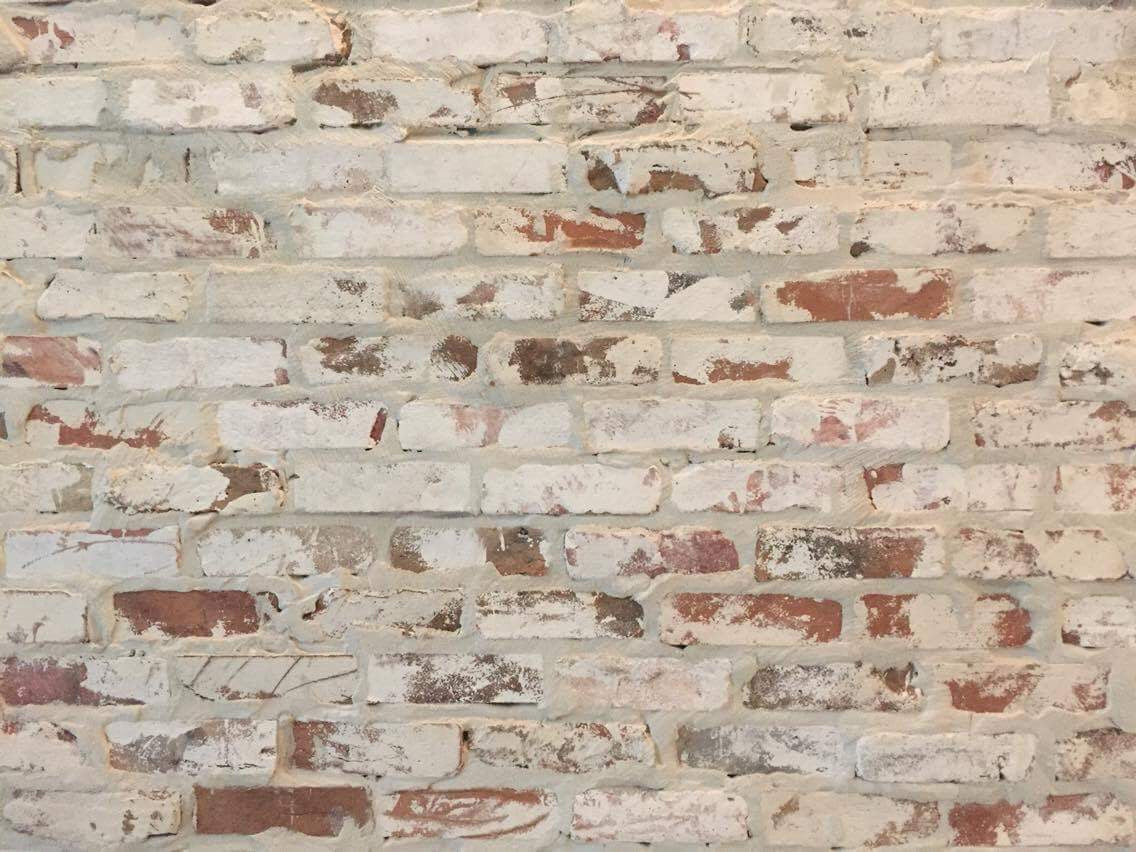 Cheap thin brick veneers prefect white washed brick for 1 2 inch brick veneer