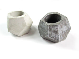 Room Decor Geometric Concrete Planter, Concrete Pot. Hand Made. Decorate Your Interior. FREE SHIPPING!