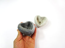 Cheap Home Decor. Heart Shaped Concrete Planter, Concrete Pot. Hand Made. Unique Living Room Decor. FREE SHIPPING!