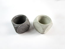 Home Decor Accent. Geometric Concrete Planter, Concrete Pot. Hand Made. Decorate Your Living Room. FREE SHIPPING!