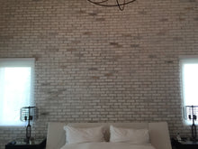 CHICAGO STYLE BRICK VENEERS- WHITE MIXED COLOR. Brick Decoration Design At It's Best. FREE SHIPPING!