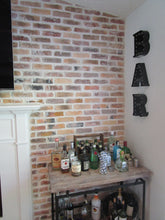 CHICAGO STYLE BRICK VENEERS- FLAGLER MIXED COLOR. Thin Brick Tiles For Interior Brick Walls. FREE SHIPPING!