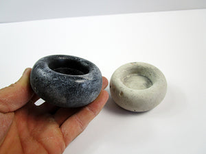 Small Concrete candle holder, Rustic style candle holder Hand Made.