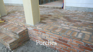 Chicago Clay Flooring Brick Tiles. FREE SHIPPING!