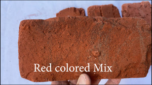 Red Mixed Chicago style Flooring Bricks. FREE SHIPPING!