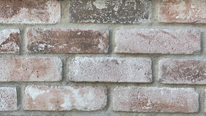 NEW STYLE BRICK VENEERS – WHITE WASHED. Thin brick veneers. FREE SHIPPING!