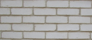 NEW STYLE BRICK VENEERS - PURE WHITE  COLOR.