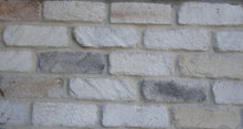 KING SIZE STYLE BRICK VENEER- WHITE MIXED COLOR.  Unique Brick Decoration. FREE SHIPPING!