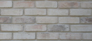 NEW STYLE BRICK VENEERS -WHITE MIXED COLOR. Thin Brick Veneers. Thin Brick Tiles. Brick Veneer Walls. FREE SHIPPING!
