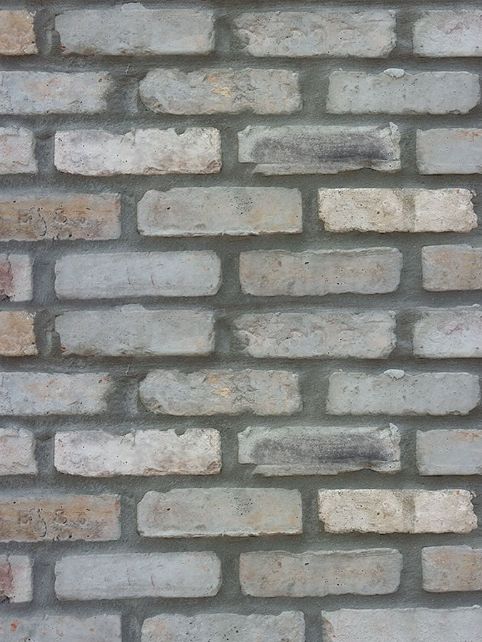 Brick Veneer Collection: CHICAGO STYLE BRICK VENEERS- GREY MIXED COLOR. Affordable