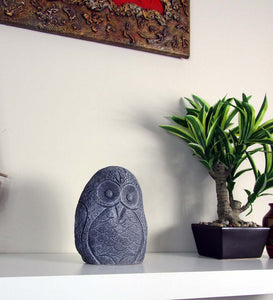 Prefect Bedroom Design Concrete Owl, Hand Made. Cheap Interior Decor Item. FREE SHIPPING!