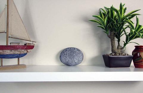 concrete décor items
