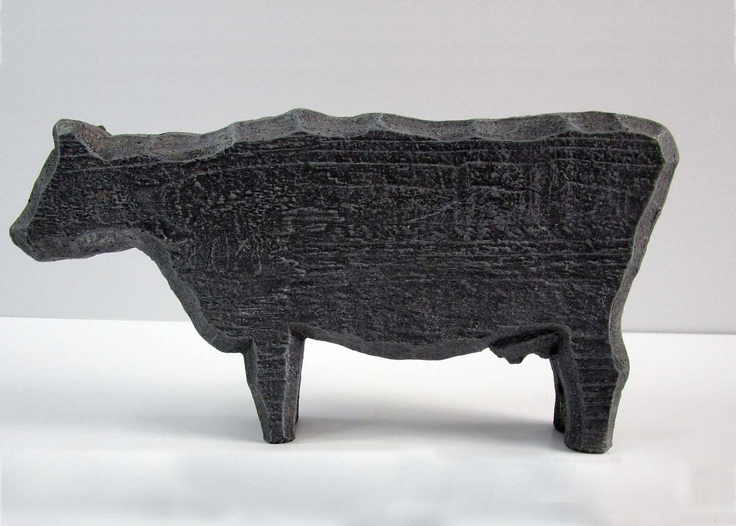 Home Decor Item For Interior Decoration .Concrete Cow. Free Shipping!