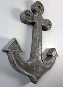 Concrete Anchor Home decoration. Decorate With Coastal Decor Concrete Anchor.