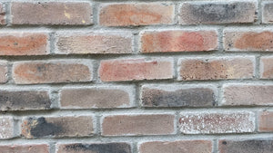 NEW STYLE BRICK VENEERS – BROWN MIXED. Thin brick veneers. Perfect for exterior walls. FREE SHIPPING!