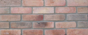 NEW STYLE BRICK VENEERS - TEQUILA SUNRISE COLOR. Thin Brick Veneers. Thin Brick Tiles. Brick Veneer Walls.