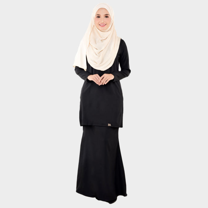 Lady Bella Kurung Black