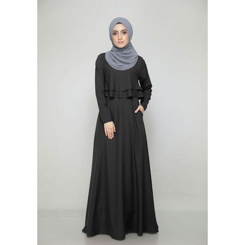 Thalia Dress in Black