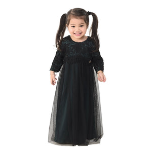 Kylie Dress Kid Emerald Green