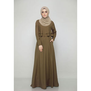 Thalia Dress in Khaki