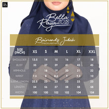 Baimond Jubah Deep Navy Blue