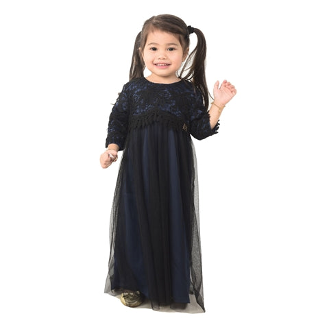 Kylie Dress Kid Navy Blue