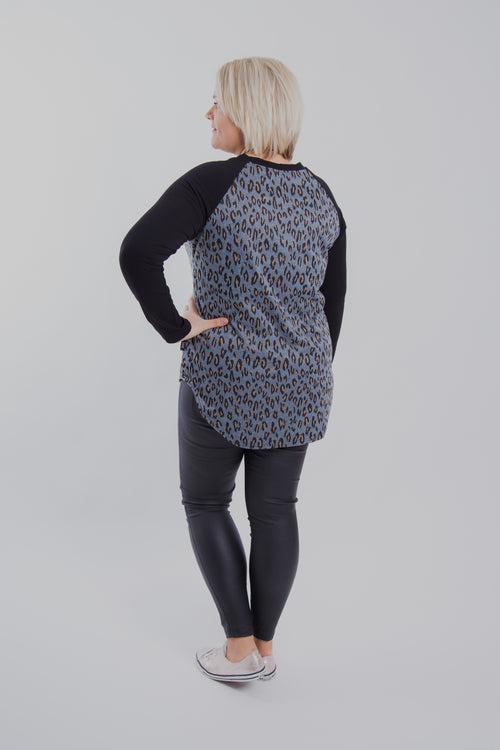 It All Started With A Raglan - Leopard Love
