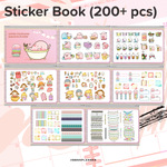 BIG PROMO! - 19 Month (Jun'19-Dec'20) Digital Planner with 10 Premium Covers and Sticker Book