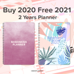 2020-2021 (2 Years Planner) Digital Planner with 10 Premium Covers and Sticker Book - Limited Time Offer!