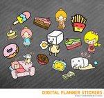 Lazy Day Digital Planner Stickers for iPad Planners Goodnotes
