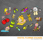 WorkOut Digital Planner Stickers for iPad Planners Goodnotes