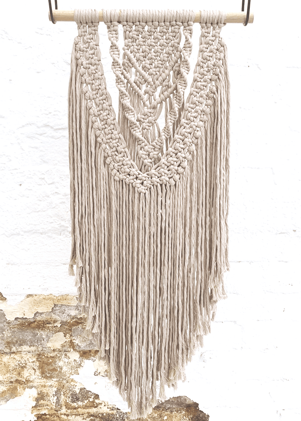 Luxe Macrame Wallhanging Craft Kit & Live Workshop