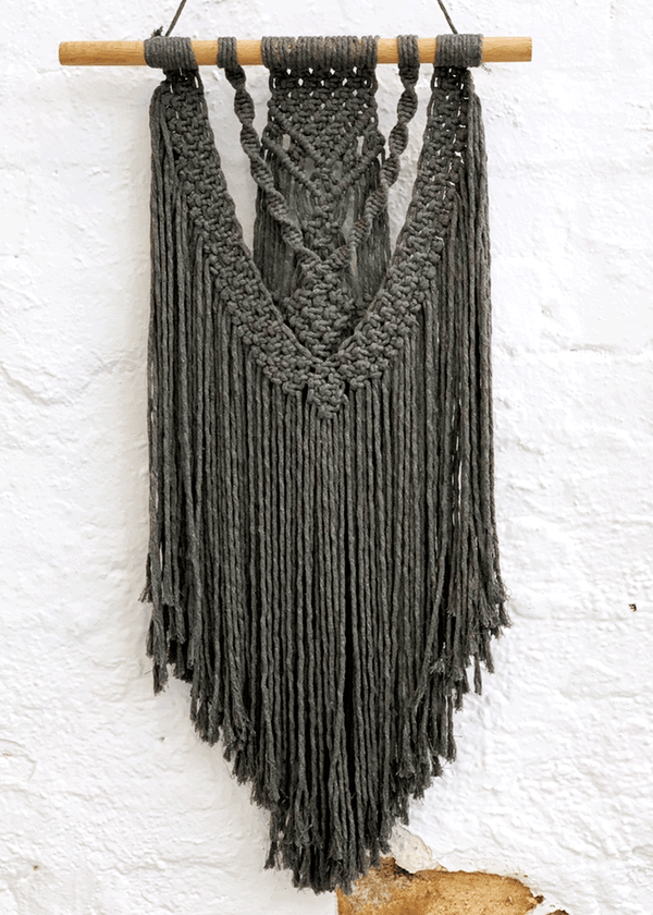 Luxe Macrame Wallhanging Craft Kit & Digital Workshop