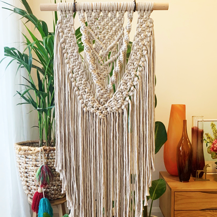 Macrame Wall Hanging Workshop - Sydney Craft Week October 2019