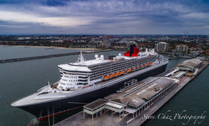 Queen Mary II at Station Pier