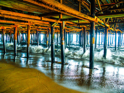 Under the Boardwalk