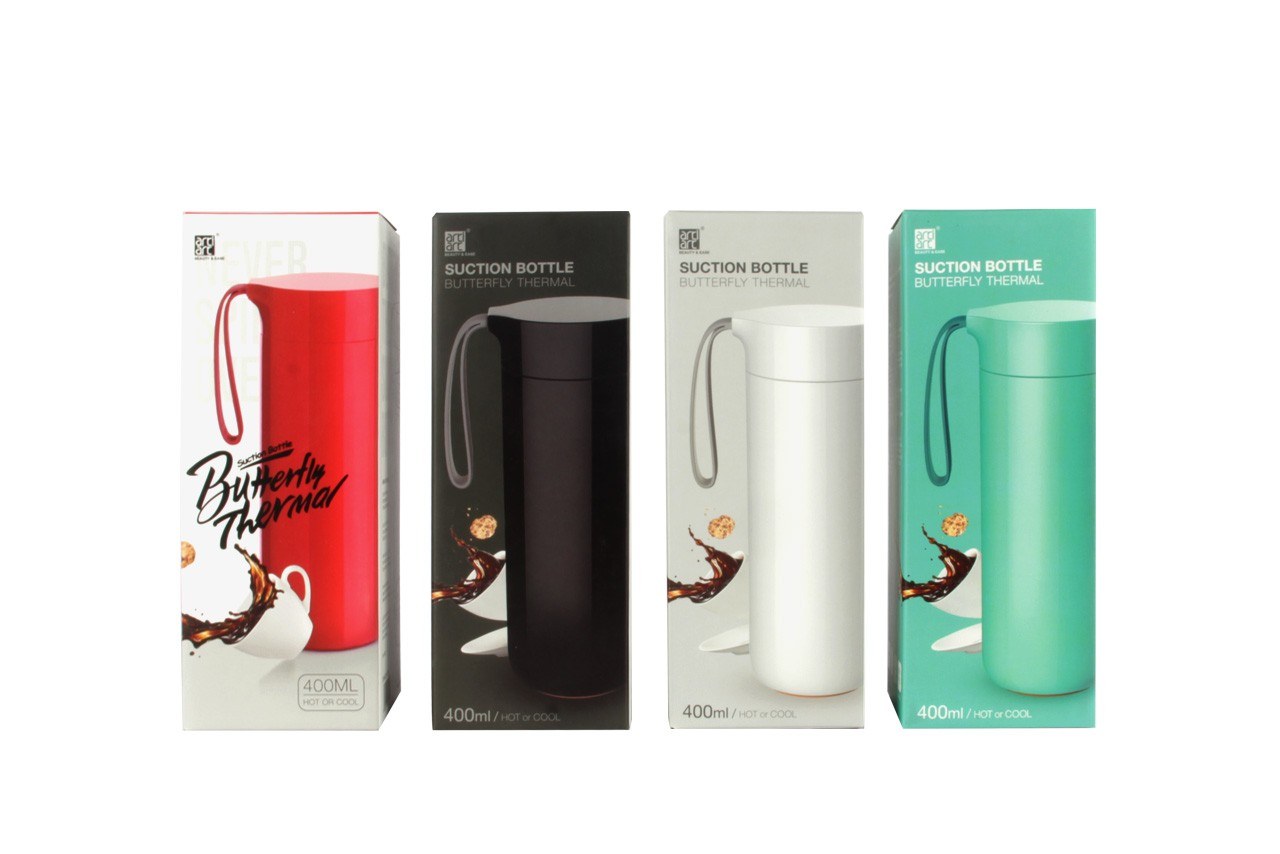 Anti Spill Butterfly Suction Tumbler - Motus Store