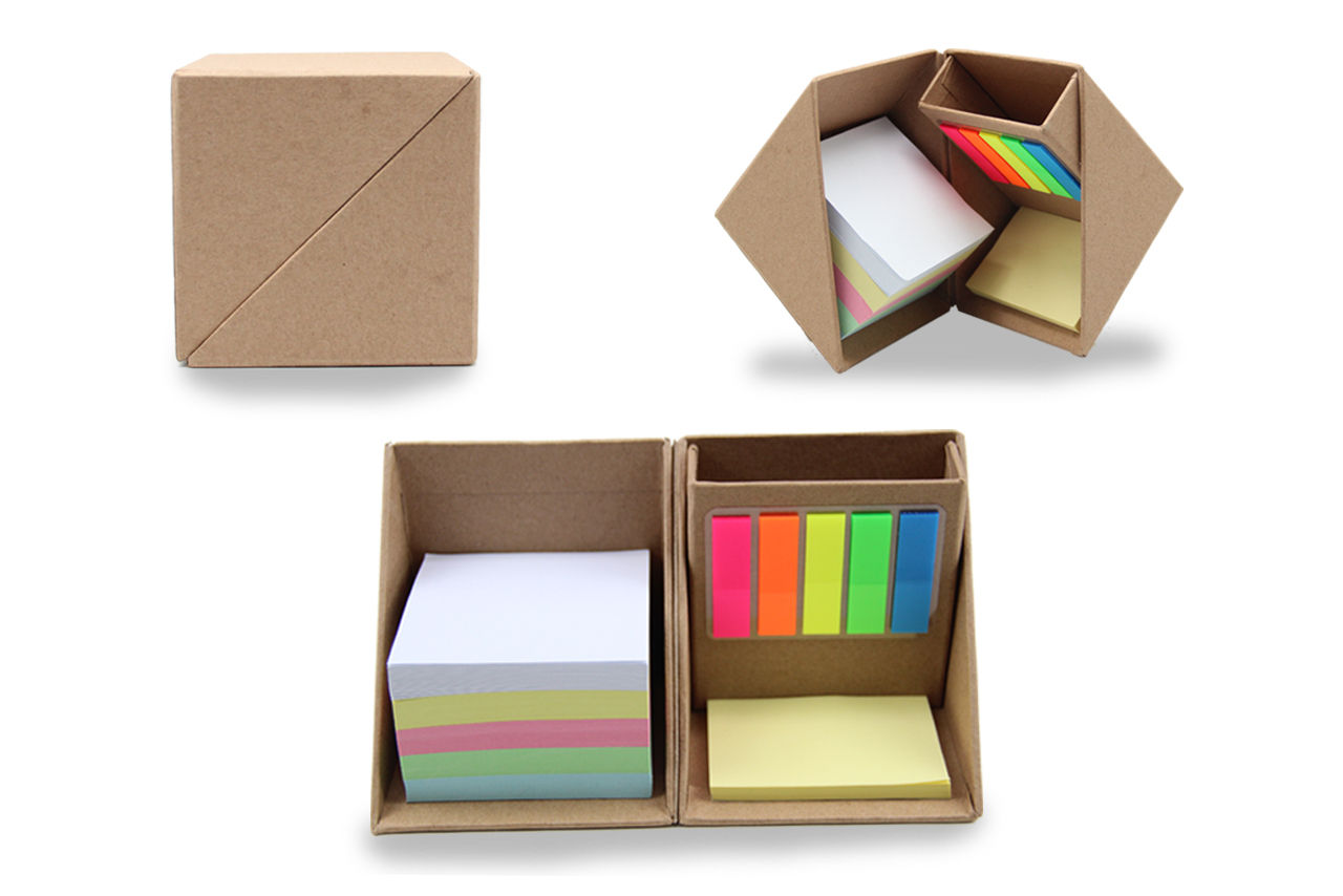 Eco Cube Stationery Set
