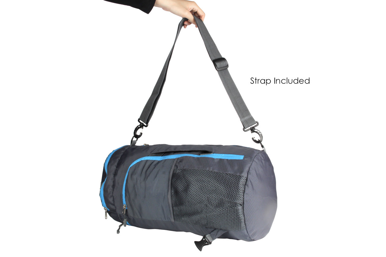 Duffel bag with slings included