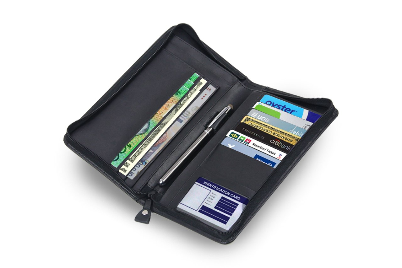 Leather Travel Organizer - Motus Store
