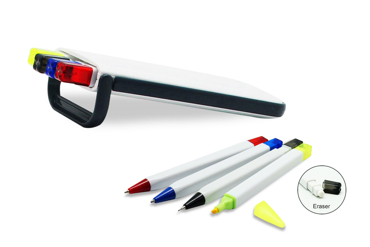 5 in 1 Pens, Mechanical Pencil Set