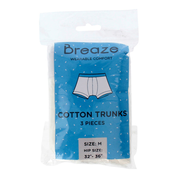 Breaze- Disposable Cotton Breathables Trunks
