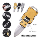 EDC Stainless Steel Mini Folding Knife