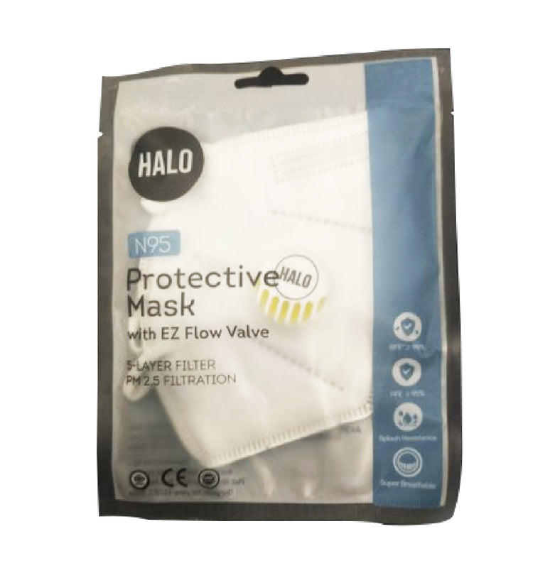 HALO N95 Protective Mask (With Valve)